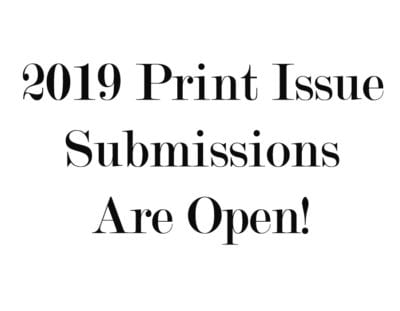 Submissions Open!